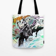 Kirby Krackle MUTATE, BABY! Album Cover Tote Bag