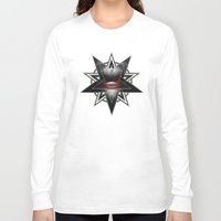 evil Long Sleeve T-shirts featuring EVIL by Dr. Lukas Brezak