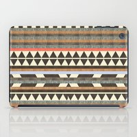 house iPad Cases featuring DG Aztec No.1 by Dawn Gardner