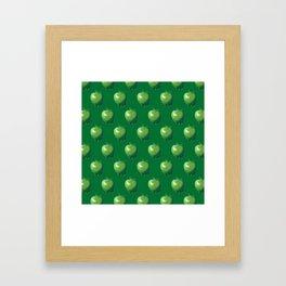 Green Apple_B Framed Art Print