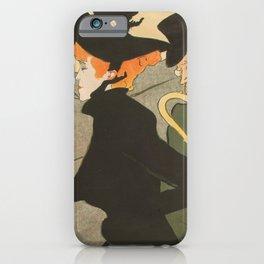 Divan Japonais Henri deToulouse Lautrec iPhone Case