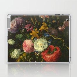 Jacob Van Walscappelle - Flowers In A Glass Vase Laptop & iPad Skin