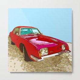 Vintage Car - Studebaker Avanti Metal Print