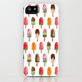 Popsicle Summer iPhone Case