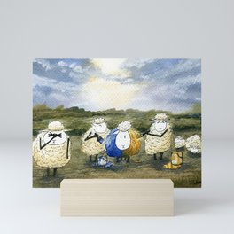 Sheep Painting Mini Art Print