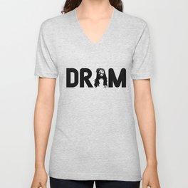 DRAM BROCCOLI YACHT Shirt Unisex V-Neck