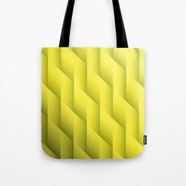 Gradient Yellow Diamonds Geometric Shapes Tote Bag