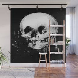 All Is Vanity Life, Death, and Existence Painting After Gilbert Wall Mural