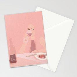 Wine night  Stationery Cards