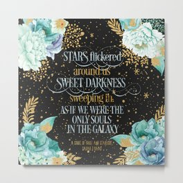 A Court of Frost and Starlight - Sarah J Maas Metal Print