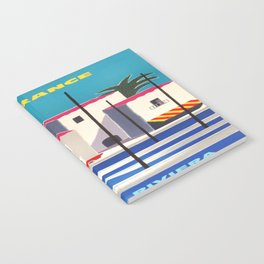 Vintage poster - French Riviera Notebook