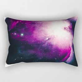 Galaxy Woman Rectangular Pillow
