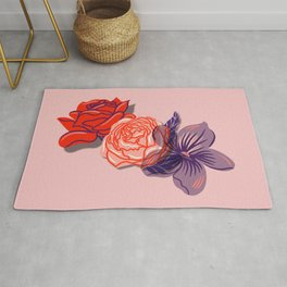 Floral Sweetheart Rug