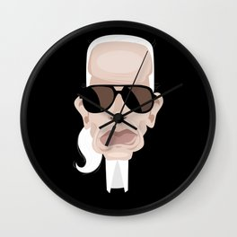 Karl Lagarfeld Wall Clock