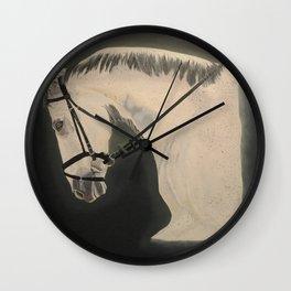 Fleabitten Wall Clock