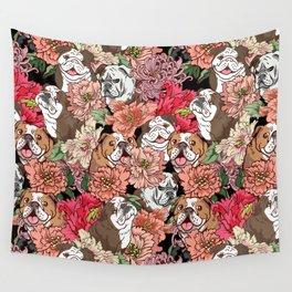 Because English Bulldog Wall Tapestry