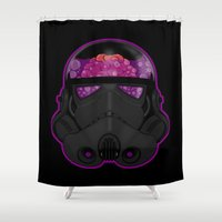 trooper Shower Curtains featuring Trooper by Betmac