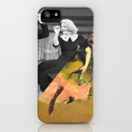 Henri Toulose Lautrec's Dance at Moulin R. & Ginger Rogers iPhone Case