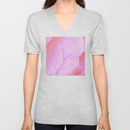 Flower | Flowers | Floral | Pink Rose Petals | Nadia Bonello Unisex V-Neck