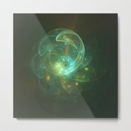 Light Dancer Metal Print