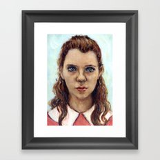 Suzy - Moonrise Kingdom - Kara Hayward Framed Art Print