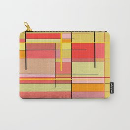 color and lines Carry-All Pouch