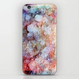 Painted Crystal iPhone Skin