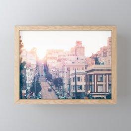 Hills of San Francisco Fine Art Print  • Travel Photography • Wall Art Framed Mini Art Print