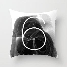 Dark Math. 6 Throw Pillow