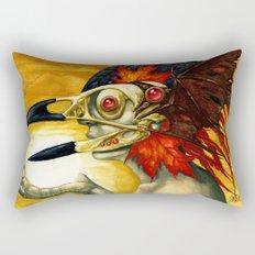 Raptor: Corvus Rectangular Pillow