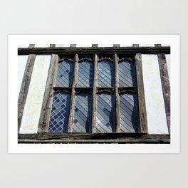 15th Century Medieval Window Art Print