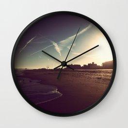 Ocean City Beach Wall Clock