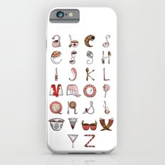 Spills & Spoons Alphabet iPhone 6s Slim Case