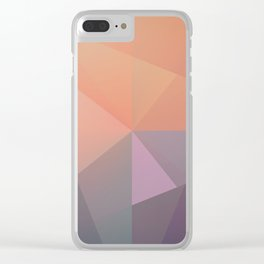 RAD XCVIV Clear iPhone Case