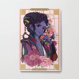 Mollymauk Tealeaf :: Pink Carnations Metal Print