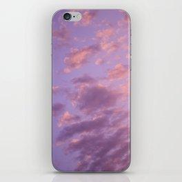 pastel sky iPhone Skin
