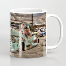 Rusty Chevrolet HDR Coffee Mug