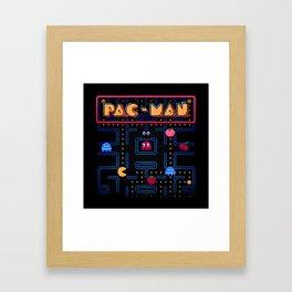Man-Pac Framed Art Print
