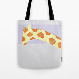 Giraffe Head Tote Bag