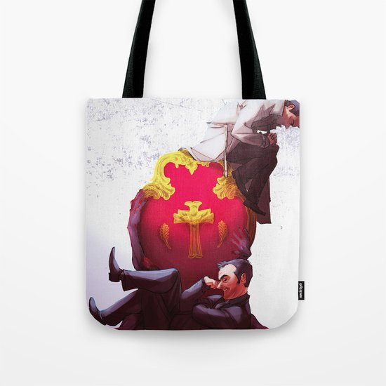 Kings of Heaven and Hell Tote Bag