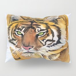 Walking Tiger Pillow Sham