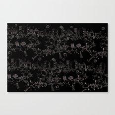 Cubicle War Canvas Print