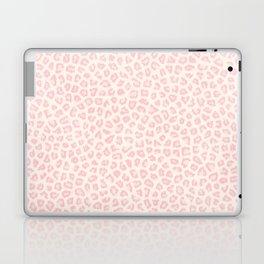 Modern ivory blush pink girly cheetah animal print pattern Laptop & iPad Skin