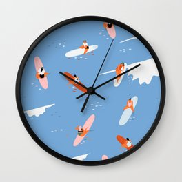 Queens beach Wall Clock
