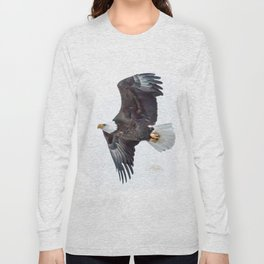 Eagle soaring Long Sleeve T-shirt