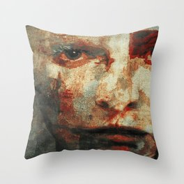 The Human Race 3 Throw Pillow