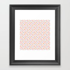 Colourful Floral Pattern Framed Art Print