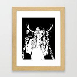Dark Magick Framed Art Print