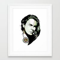 rio Framed Art Prints featuring Rio by ivette