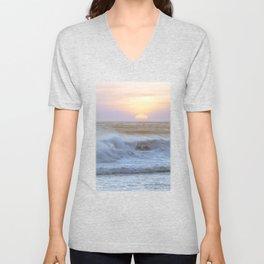 Pacific Ocean Seascape #71 by Murray Bolesta Unisex V-Neck